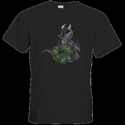 Motiv: T-Shirt Premium FAIR WEAR - Ulisses - Chibi - Weihnachtsmotiv 2