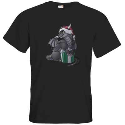 Motiv: T-Shirt Premium FAIR WEAR - Ulisses - Chibi - Weihnachtsmotiv 3