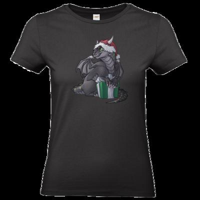 Motiv: T-Shirt Damen Premium FAIR WEAR - Ulisses - Chibi - Weihnachtsmotiv 3