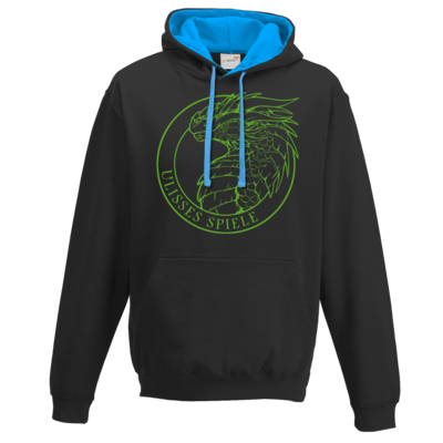 Motiv: Two-Tone Hoodie - Ulisses - Logo Outline