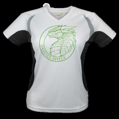 Motiv: Laufshirt Lady Running T - Ulisses - Logo Outline