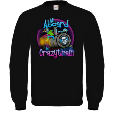 Motiv: Sweatshirt FAIR WEAR - SandcoolTV - Crazytrain