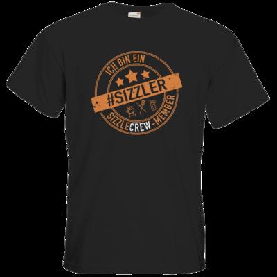 Motiv: T-Shirt Premium FAIR WEAR - sizzler_3_dunkel