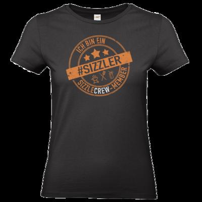 Motiv: T-Shirt Damen Premium FAIR WEAR - sizzler_3_dunkel