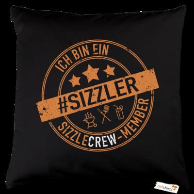 Motiv: Kissen Baumwolle - sizzler_3_dunkel