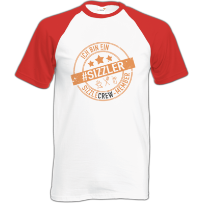 Motiv: Baseball-T FAIR WEAR - sizzler_3_dunkel