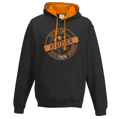 Motiv: Two-Tone Hoodie - sizzler_3_dunkel