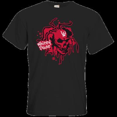 Motiv: T-Shirt Premium FAIR WEAR - Whitey - Logo rot