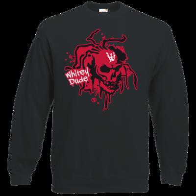 Motiv: Sweatshirt Classic - Whitey - Logo rot