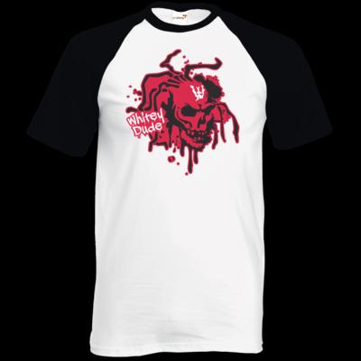 Motiv: TShirt Baseball - Whitey - Logo rot