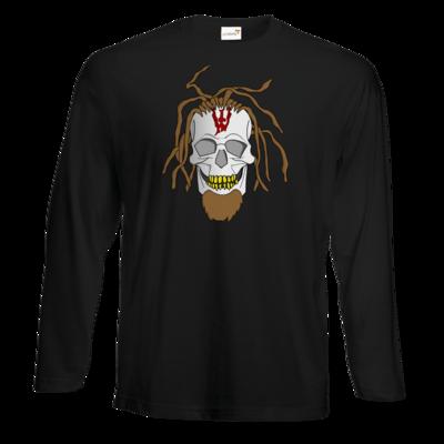 Motiv: Exact 190 Longsleeve FAIR WEAR - Whitey - Pixel Skull
