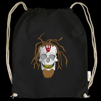 Motiv: Cotton Gymsac - Whitey - Pixel Skull