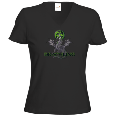 Motiv: T-Shirts Damen V-Neck FAIR WEAR - Ulisses - Drachling