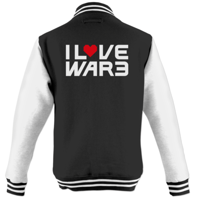 Motiv: College Jacke - Back2Warcraft - I love War3