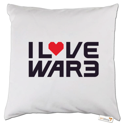 Motiv: Kissen - Back2Warcraft - I love War3