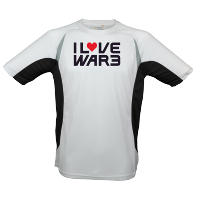 Motiv: Laufshirt Running T - Back2Warcraft - I love War3