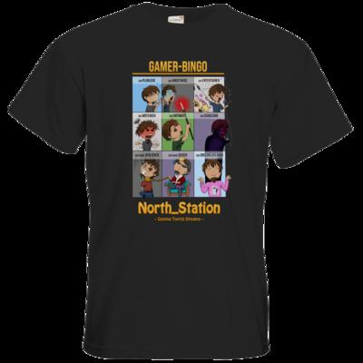 Motiv: T-Shirt Premium FAIR WEAR - North_Station - Gamer-Bingo