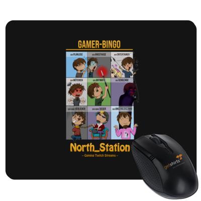 Motiv: Mousepad Textil - North_Station - Gamer-Bingo