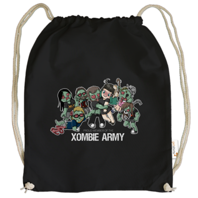 Motiv: Cotton Gymsac - Xaly - Xombie Army