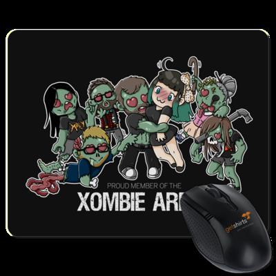 Motiv: Mousepad Textil - Xaly - Xombie Army