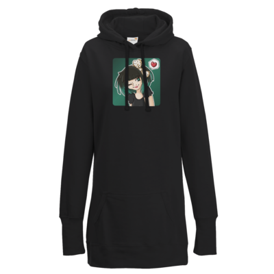 Motiv: Lady Longline Hoodie - Xaly - Avatar Xaly Green