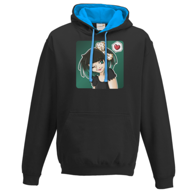 Motiv: Two-Tone Hoodie - Xaly - Avatar Xaly Green