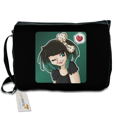 Motiv: Schultertasche - Xaly - Avatar Xaly Green