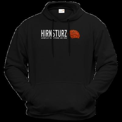 Motiv: Hoodie Premium FAIR WEAR - Hirnsturz - Gameplay mit Stimme und Hirn