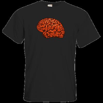 Motiv: T-Shirt Premium FAIR WEAR - Hirnsturz - Hirn