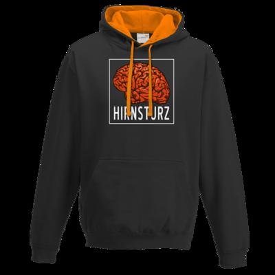 Motiv: Two-Tone Hoodie - Hirnsturz - Quadrat