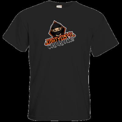 Motiv: T-Shirt Premium FAIR WEAR - D1rtyd3vil - Was das denn