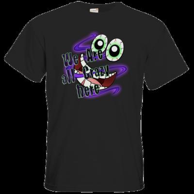 Motiv: T-Shirt Premium FAIR WEAR - SandcoolTV - We Are Crazy