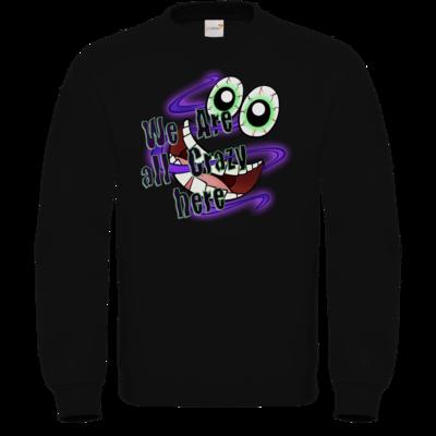 Motiv: Sweatshirt FAIR WEAR - SandcoolTV - We Are Crazy
