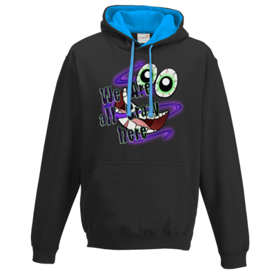Motiv: Two-Tone Hoodie - SandcoolTV - We Are Crazy