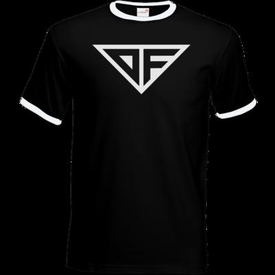Motiv: T-Shirt Ringer - DF Logo