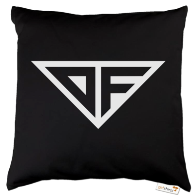 Motiv: Kissen Baumwolle - DF Logo