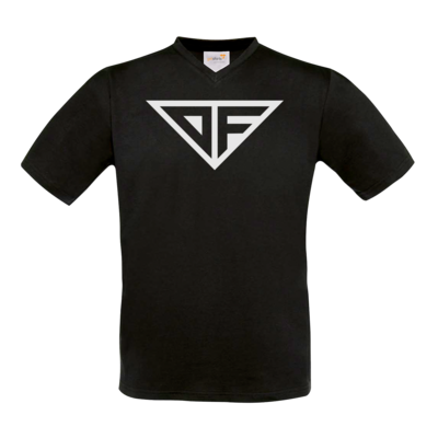 Motiv: T-Shirt V-Neck FAIR WEAR - DF Logo