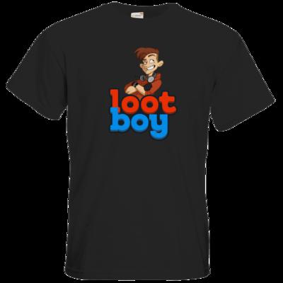 Motiv: T-Shirt Premium FAIR WEAR - LootBoy - Logo