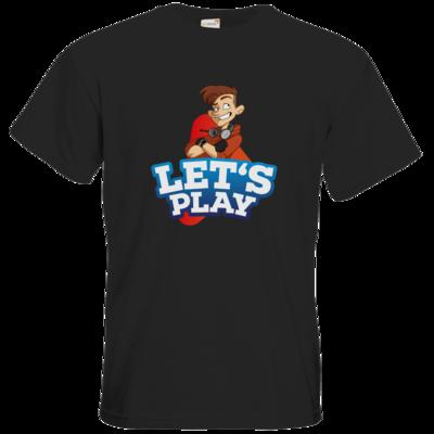 Motiv: T-Shirt Premium FAIR WEAR - LootBoy - Lets Play