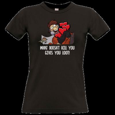 Motiv: T-Shirt Damen Premium FAIR WEAR - LootBoy - Kill You