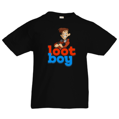 Motiv: Kids T-Shirt Premium FAIR WEAR - LootBoy - Logo