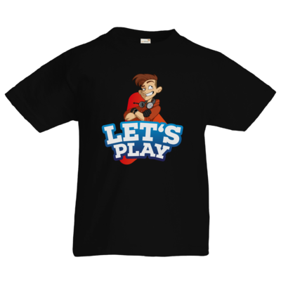 Motiv: Kids T-Shirt Premium FAIR WEAR - LootBoy - Lets Play