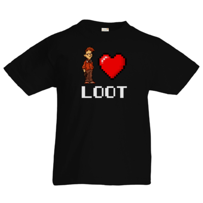 Motiv: Kids T-Shirt Premium FAIR WEAR - LootBoy - Pixel Loot