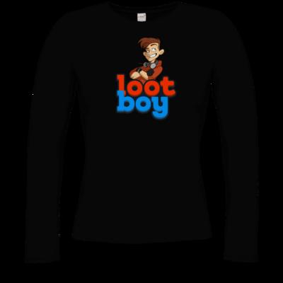 Motiv: Longsleeve Damen FAIR WEAR - LootBoy - Logo