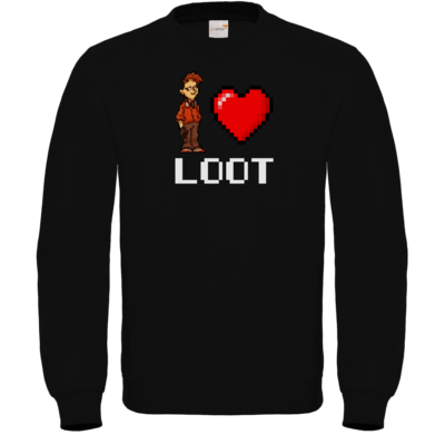 Motiv: Sweatshirt FAIR WEAR - LootBoy - Pixel Loot