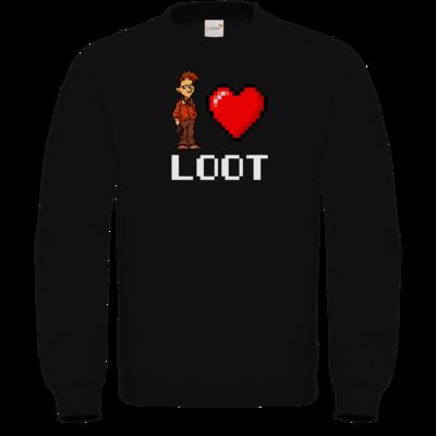 Motiv: Sweatshirt FAIR WEAR - LootBoy - Pixel Loot