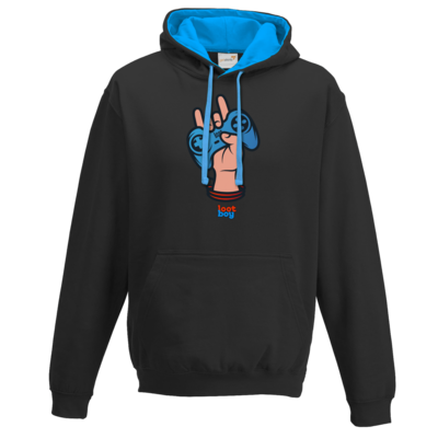 Motiv: Two-Tone Hoodie - LootBoy - Hand up