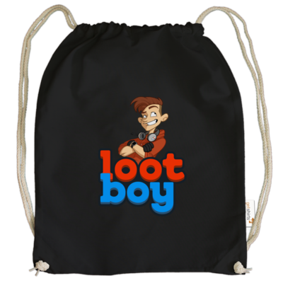 Motiv: Cotton Gymsac - LootBoy - Logo