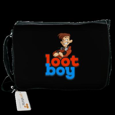 Motiv: Schultertasche - LootBoy - Logo