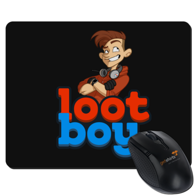 Motiv: Mousepad Textil - LootBoy - Logo